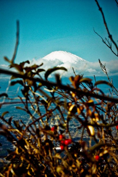 Japan 2001-Snow on Mount Fuji-97