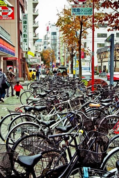 Japan 2001-Tokyo Bicycle Landscape-73