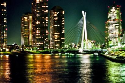 Japan 2001-Tokyo Bridge Landscape-79