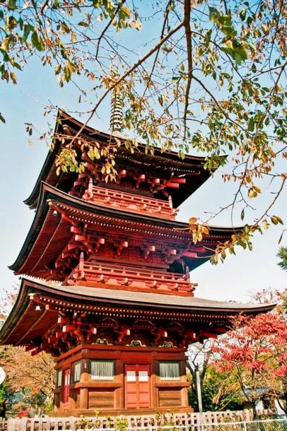 Japan 2001-Tokyo Temple-44