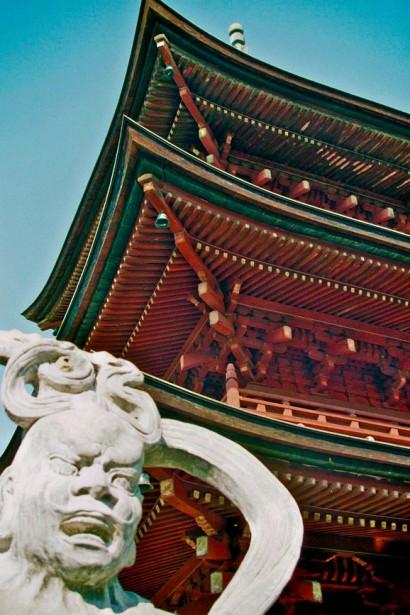 Japan 2001-Tokyo Temple-45