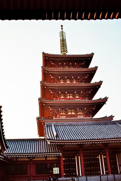 Japan 2001-Tokyo Temple-49