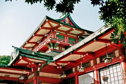 Japan 2001-Tokyo Temple-59