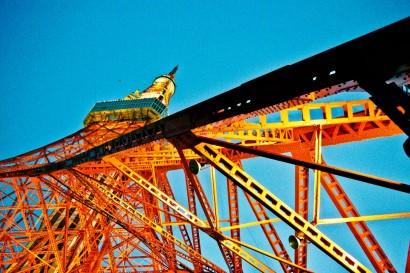 Japan 2001-Tokyo Tower-29